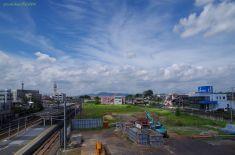 鹿島鉄道跡地