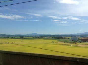 上越新幹線車窓