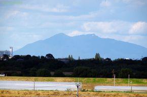 遠くに見えた筑波山