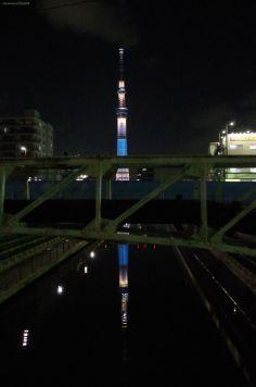 境橋にて・・・配管がorz