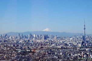 東京タワーと富士山とスカイツリー