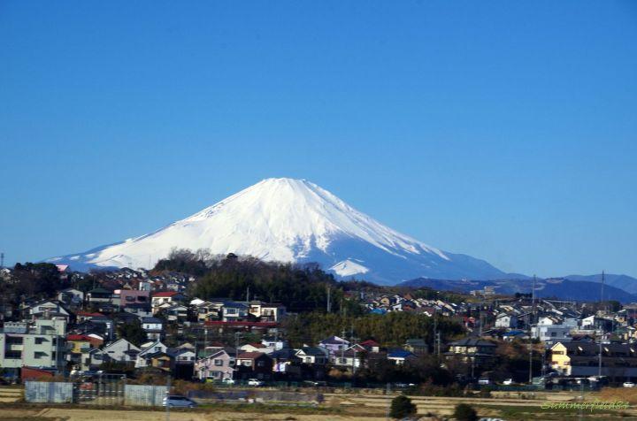 神奈川県で撮った富士山