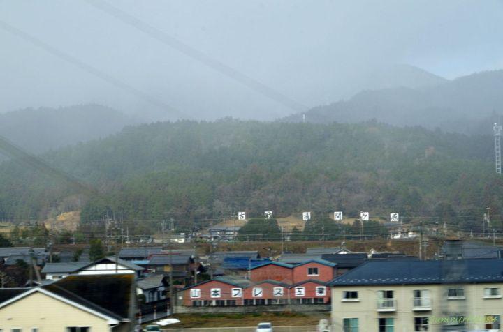 関ヶ原で曇ってきた