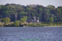 対岸の展望施設