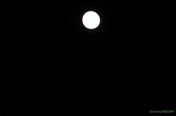 土星が見えるようにしよとすると月の表面がorz