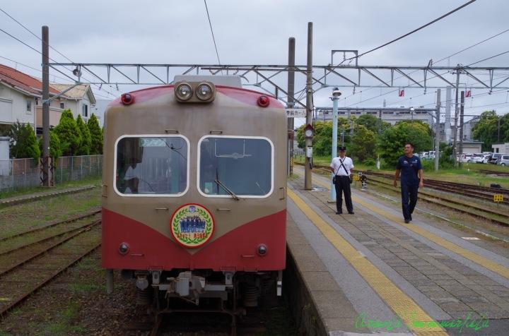 銚子駅銚子電鉄ホーム