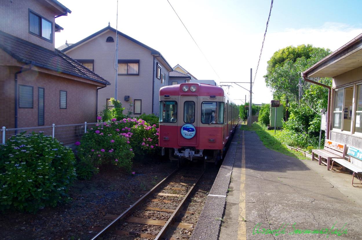 関東最東端の駅@銚子電鉄